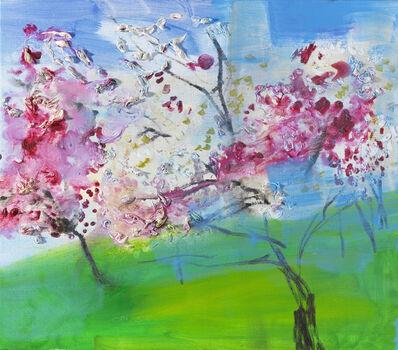Rainer Fetting, 'Japanische Kirschblüten', 2007