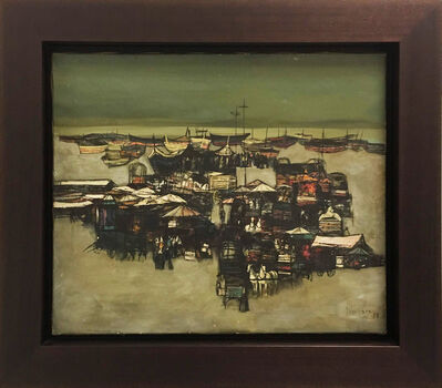 Nicola Simbari, 'View of a Port', 1958