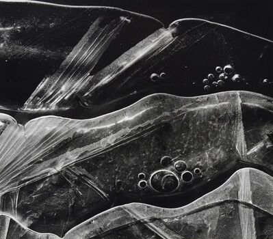 Brett Weston, 'Ice Forms, Oregon', 1970