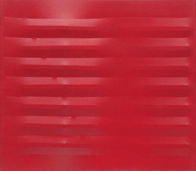 Agostino Bonalumi, 'Rosso', 1982