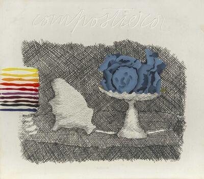 Concetto Pozzati, 'Piccola Compostiera (da e per Morandi) from the 'Restaurazione' series', 1973