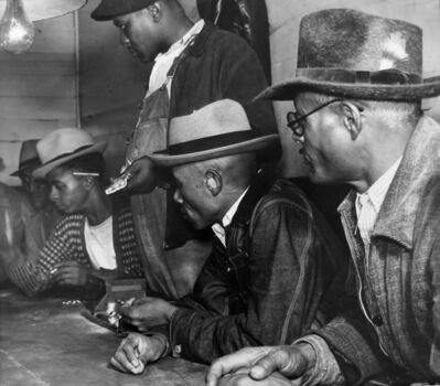 Marion Post Wolcott, 'Gambling with Cotton Money, MS', 1939