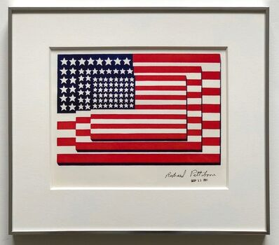 Richard Pettibone, 'Jasper Johns Three Flags 1958 Horizontal', 2001