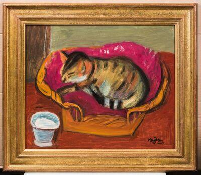 Henri Hayden, 'Le chat et son pot de lait'