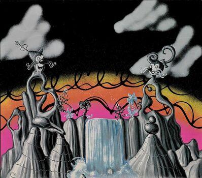 Kenny Scharf, 'Aqua Pollination'