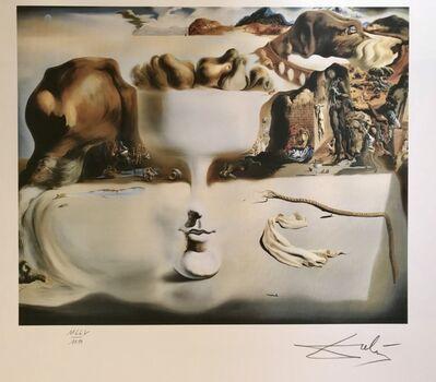 Salvador Dalí, 'Apparition d'un visage et d'un compotier sur une plage', ca. 1980
