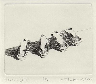 Wayne Thiebaud, 'Banana Splits, from the series, Delights', 1964
