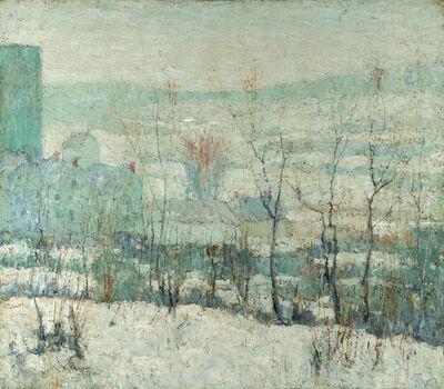 Ernest Lawson, 'New York Farm in Winter', 1913