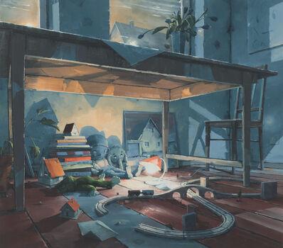 Sven Kroner, 'Universum unter dem Tisch', 2017