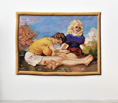 John Currin, 'Tapestry (Dogwood)', 2010