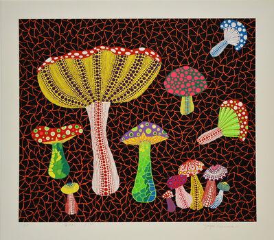 Yayoi Kusama, 'Toadstools', 1990