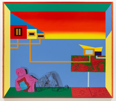 Jamaal Peterman, 'Wade in the water', 2020