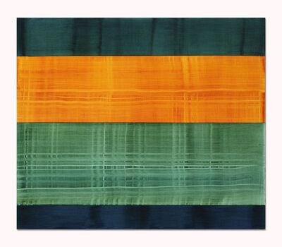 Ricardo Mazal, 'Composition in Greens 7', 2014