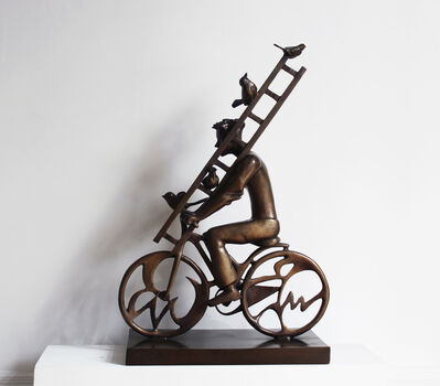 David Gerstein, 'Rider with ladder', 2015
