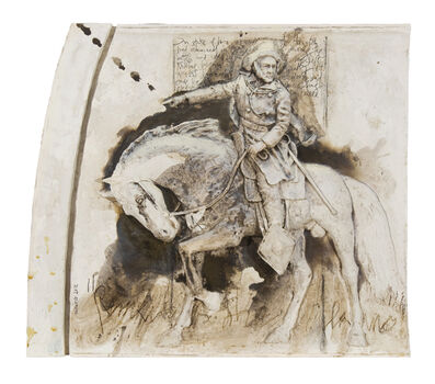 Miguel Zapata, 'General Sam Houston (From a Portrait by Stephen Seymour Thomas)', 2012