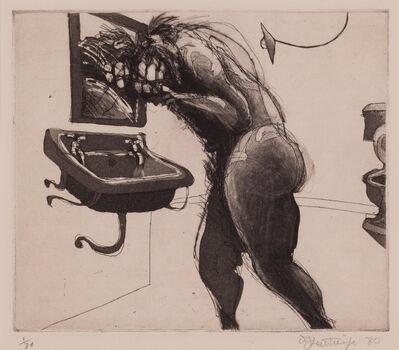 "William Kentridge, 'Untitled, from the ""Domestic Scenes""', 1980"
