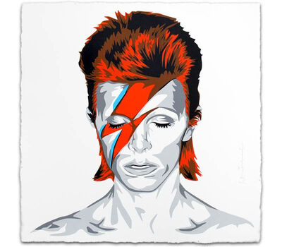 Mr. Brainwash, 'David Bowie', 2016