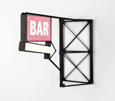 Drew Leshko, 'Red Bar With Arrow', 2019