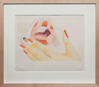 Tom Wesselmann, 'Smoker study', 1973