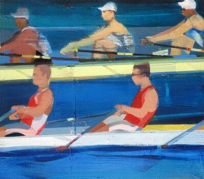 Suhas Bhujbal, 'Rowing #3', 2018