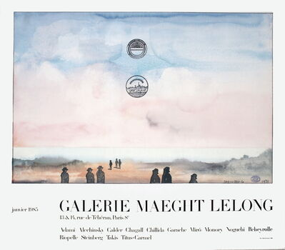Saul Steinberg, 'Galerie Maeght Lelong', 1985
