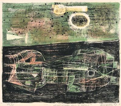 Corneille, 'Cat lying in the desert', 1953
