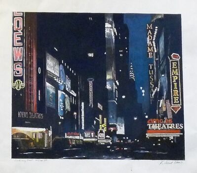 Richard Haas, 'Looking East on 42nd St.', 2003