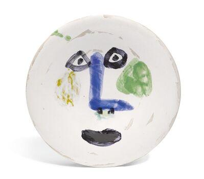 Pablo Picasso, 'Visage nez à angle droit', 1963
