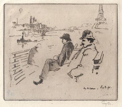 Eugène Bejot, 'Sur le bateau', 1898