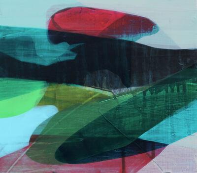 Katherine Sandoz, '(color fields) marsh bed', 2014-2015