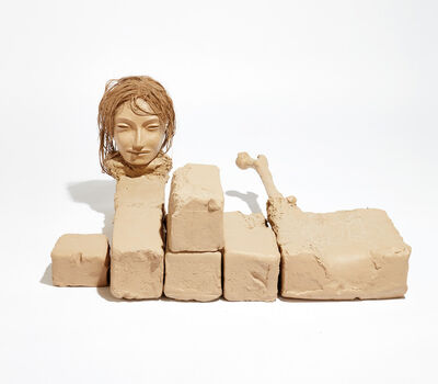 Mark Manders, 'Unfinished Unfired Clay Figure', 38108