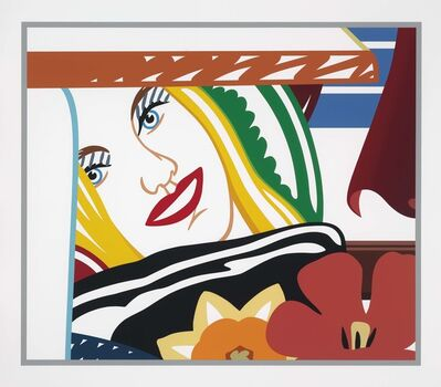 Tom Wesselmann, 'Bedroom Face #41', 1990
