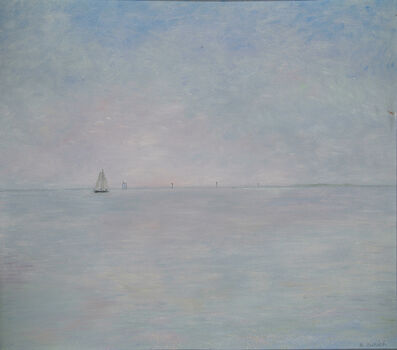 Richard Eurich, 'Lone sailer', 1988