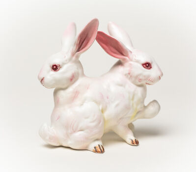 Debra Broz, 'White Rabbit, No. 3', 2019