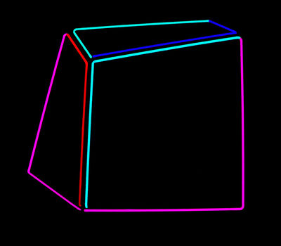 Anne-Katrine Senstad, 'Soft Geometry Neon #010B', 2015-2019