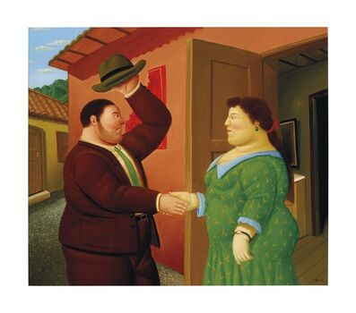 Fernando Botero, 'Good Morning ', 2006