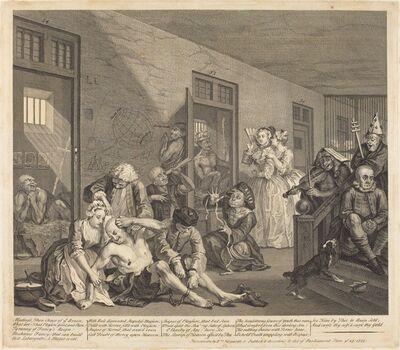 William Hogarth, 'A Rake's Progress: pl.8', 1735