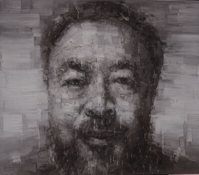 Adam Chang, 'Portrait of Ai Weiwei B', 2015