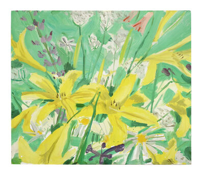 Alex Katz, 'Study for Ada with Flowers', 1980
