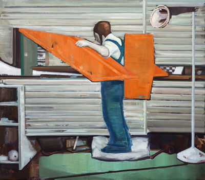 Zhang Bofu 张博夫, 'The Reticent', 2012