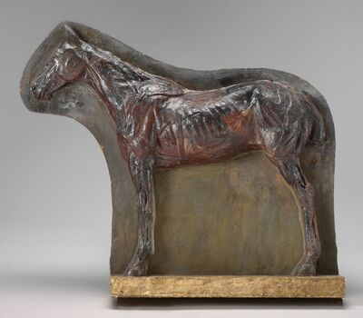 Thomas Eakins, 'Ecorché: Relief of a Horse (Josephine)', ca. 1882