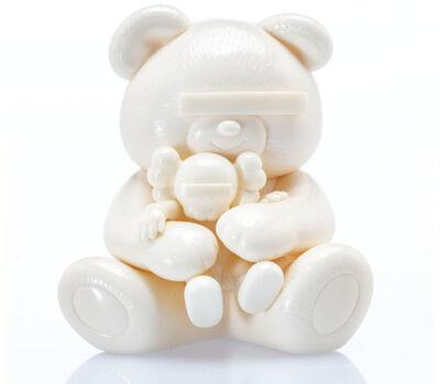 KAWS, 'KAWS X Jun Takahashi - Undercover Bear (White)', 2009