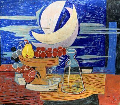 Eduardo Oliva, 'Blau Bodego', 1988