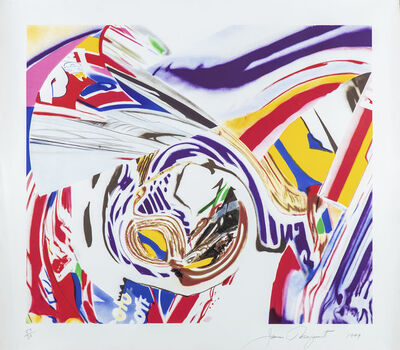 James Rosenquist, '(AMERICAN, 1933-2017) 'After Berlin V.'', 1999