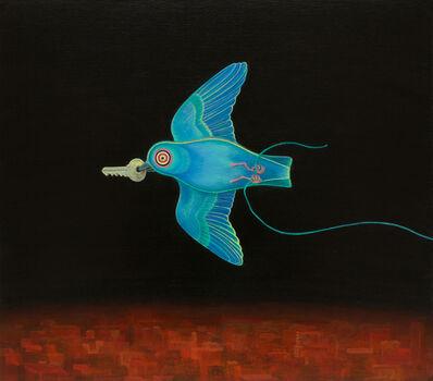 Alasdair Wallace, 'Little Blue Bird', 2017