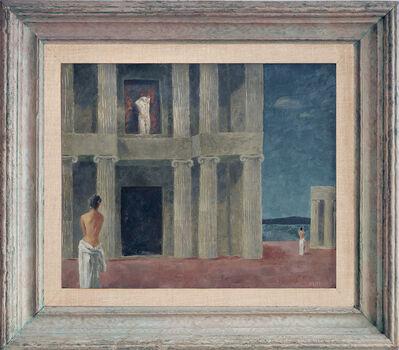 Walter Charles Klett, 'Hellenic Hypotenuse. Nudes among Greek Columns', 1945-1950