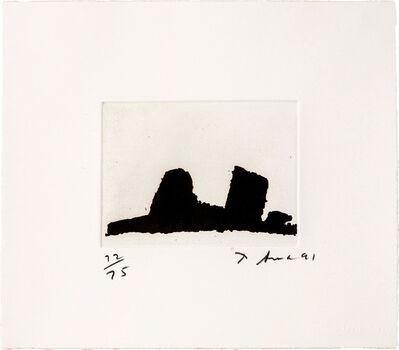 Richard Serra, 'Videy Afangar #2 (from Videy Afangar Series)', 1991