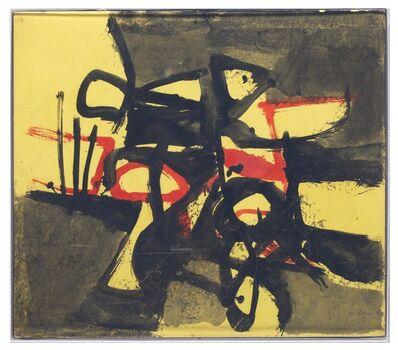 Afro (Afro Basaldella), 'Giallo Rosso Nero', 1964