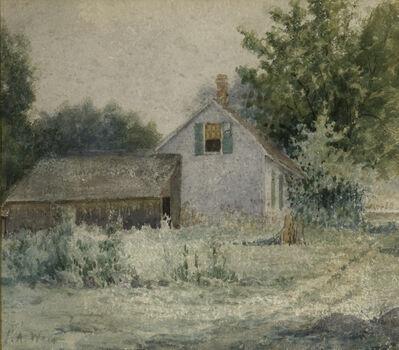 Julian Alden Weir, 'Farmhouse', ca. 1910