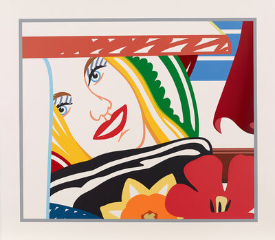 Tom Wesselmann, 'From Bedroom Painting #41', 1990